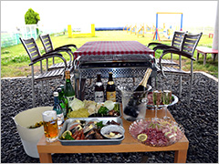 グルメ和会席料理の、絶景湖畔宿 ペロはまなこ